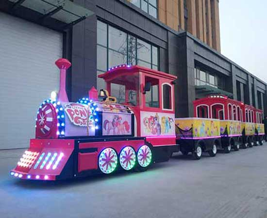 Kiddie Trackless Train for Australia
